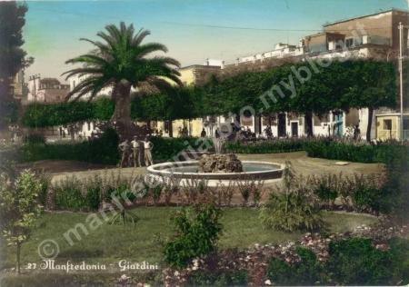 fontana,villa,comunale,manfredonia