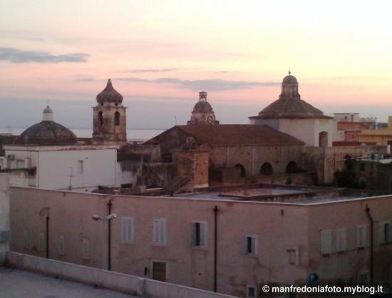 campanile,cupole,centro,manfredonia,